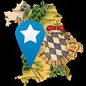 Bayern in historischen Karten icon