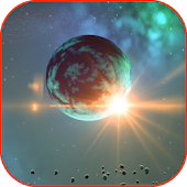 Space Planet Live Wallpaper