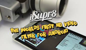 Screenshot of iSupr8 Vintage Super 8 Camera