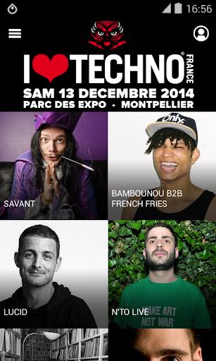 I Love Techno France 2014