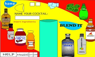 Screenshot of Cocktail Mixer v.1.0