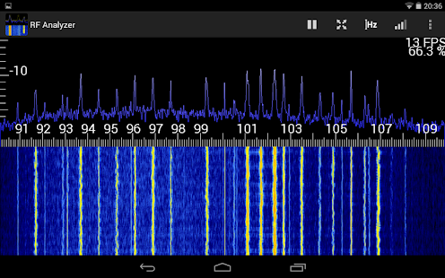 RF Analyzer- screenshot thumbnail