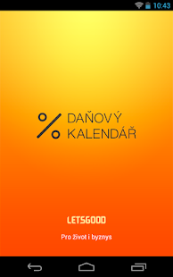 Daňový kalendář 2014- screenshot thumbnail