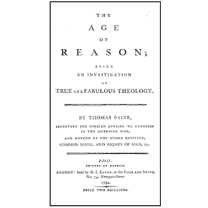 miracles and revelation in the age of reason by thomas paine The paperback of the the age of reason by: thomas paine by  paine advocates reason in the place of revelation, leading him to reject miracles and to view the.