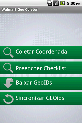 Walmart Geo Coletor
