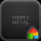シンプルメタルドドルランチャのテーマ icon