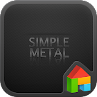 Metal dodol launcher theme icon