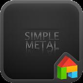 Metal dodol launcher theme