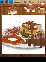 Screenshot of Desserts Jigsaw Puzzles
