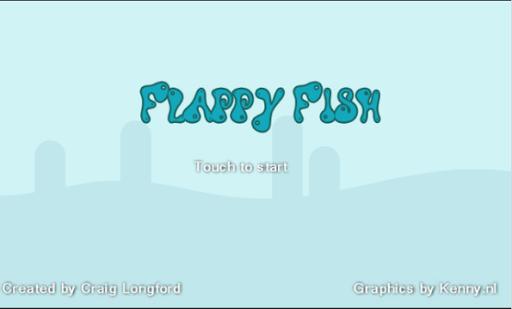 【免費休閒App】Flappy Fish-APP點子