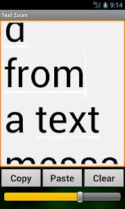 Text Zoom screenshot 2