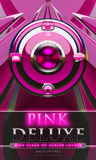 GO Locker Theme Pink Deluxe