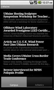 University of Maine (UMaine)- screenshot thumbnail