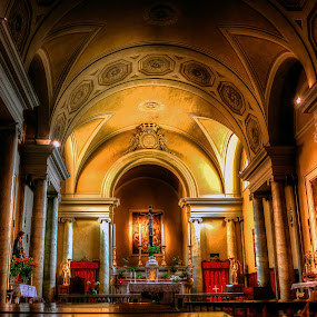 San Michele Arcangelo by Sondre Gunleiksrud - Buildings & Architecture Places of Worship ( canon, old house, old, church, hdr, italy,  )