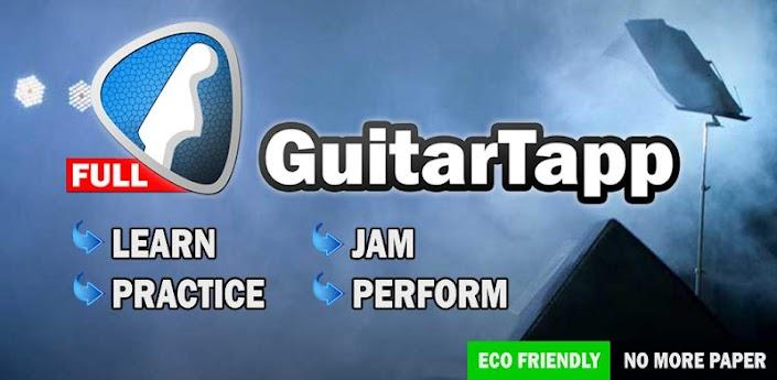 GuitarTapp - приложение подбора аккордов для андроид