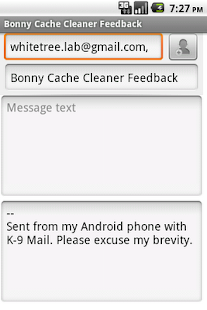 Bonny Cache Cleaner - screenshot thumbnail