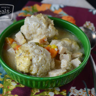 Gluten Free Dairy Free Creamed Turkey and Dumplings
