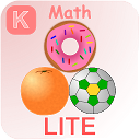 Kindergarten Kids Math Lite mobile app icon
