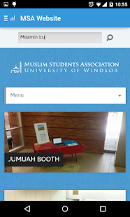 UWindsor MSA- screenshot thumbnail