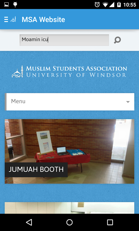 UWindsor MSA- screenshot