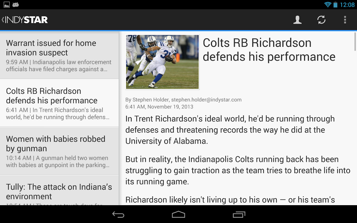 Indy Star - screenshot