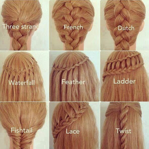 Hairstyles Step By Step Guides