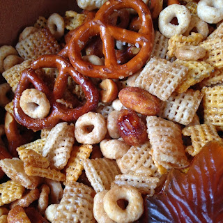 Maple Glazed Snack Mix.