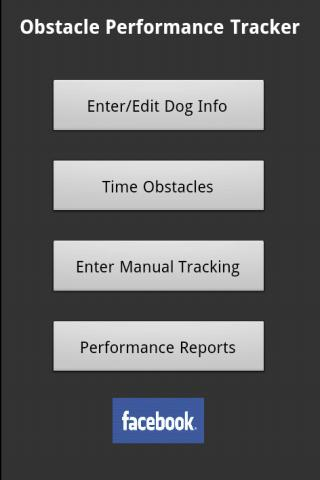 Agility Obstacle Timer- screenshot