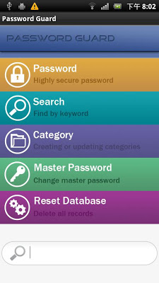 Password Guard - screenshot