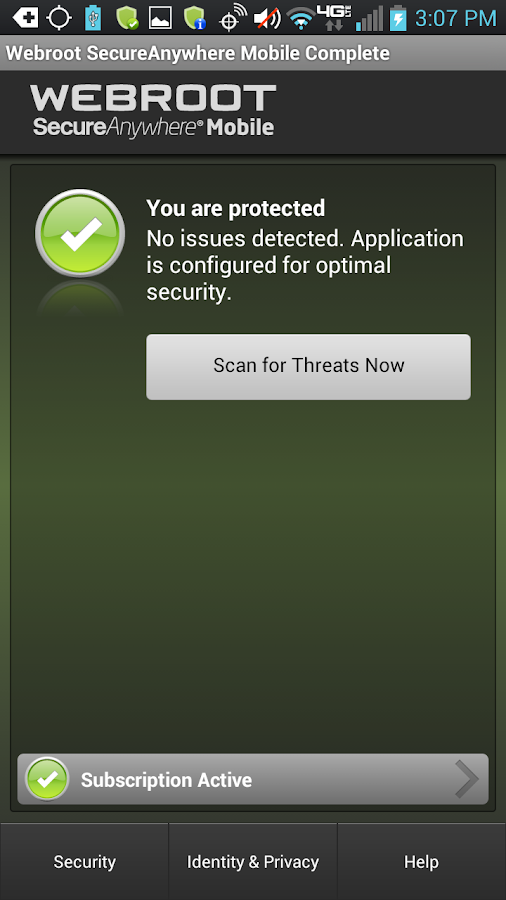 Security - Complete - screenshot