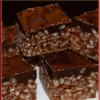 Mars Bar Rice Krispies Squares