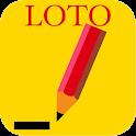 ロト7クイックピック+ 最新回の抽選結果の確認もできる! icon