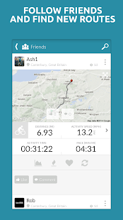 Map My Tracks Cycling Run Walk- screenshot thumbnail