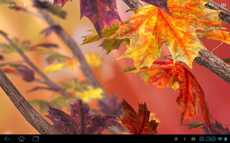 Autumn Tree Free Wallpaper - screenshot