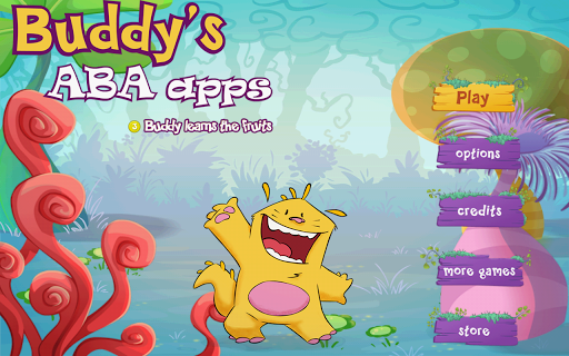 Buddy learns the fruits Games for Android screenshot