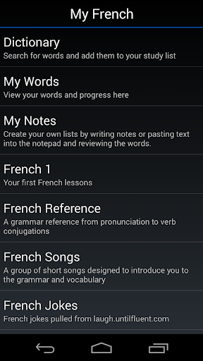 My French
