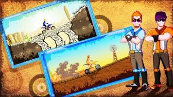 Screenshot of Desert Rage - Bike Racing Game