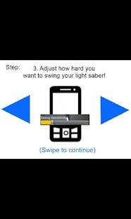 Lightsaber App Deluxe screenshot