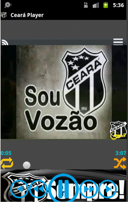 Ceará (Vozão) Player - screenshot
