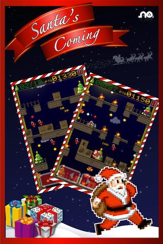 Santa's coming: run & jump - screenshot