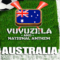 AUSTRALIA VUVUZELA and ANTHEM! logo
