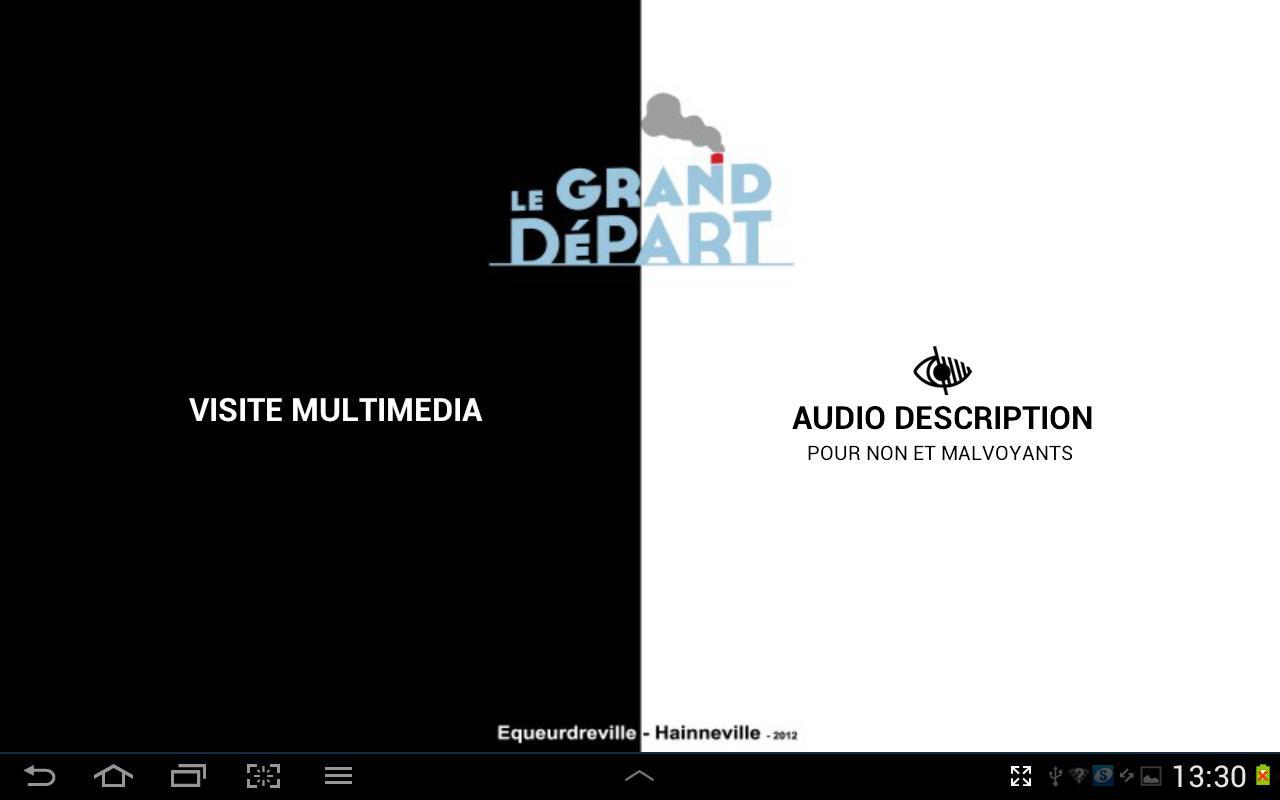 Le Grand Départ– Capture d'écran