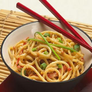 Asian-style Peanut Noodles.