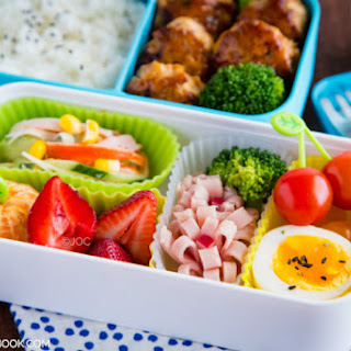 Chicken Meatball Bento