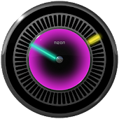 NEW NEON Laser Clock Widget