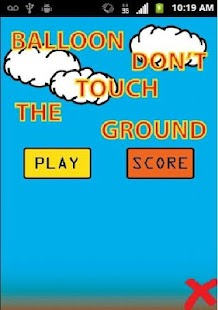 Balloon-Dont-Touch-The-Ground