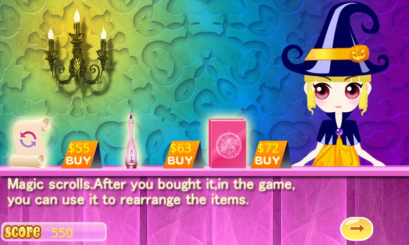 The treasure hunt of Princess - screenshot