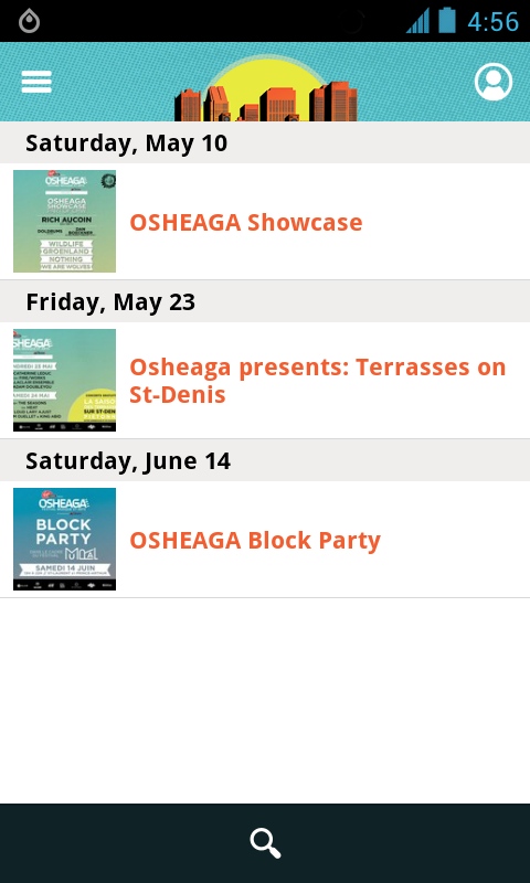 Osheaga Festival 2014 - screenshot