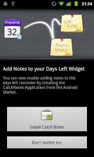 Days Left Widget Pro - screenshot thumbnail