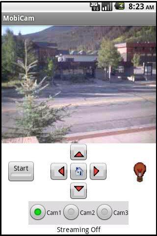 MobiCam- screenshot